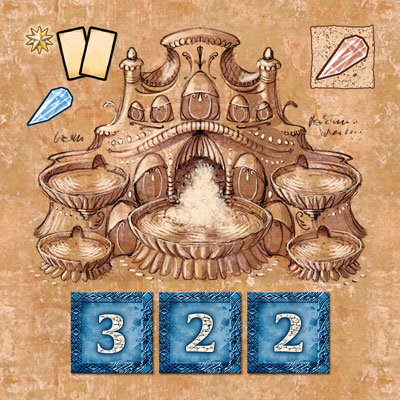 Blue Moon City Game Pieces