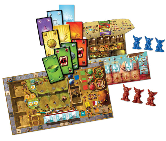 Dungeon Petz game contents