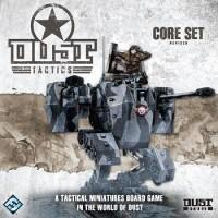 Dust Tactics: Revised Core Set - Board Game Box Shot