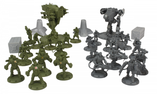 dust tactics miniatures
