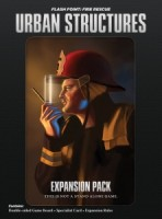 Flash Point: Fire Rescue — Urban Structures Expansion Pack - Board Game Box Shot