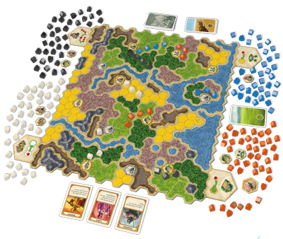 Kingdom Builder Queen Games Boardgame