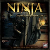 Ninja: Legend of the Scorpion Clan - Board Game Box Shot