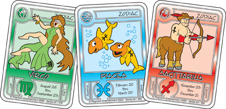 Killer bunnies zodiac cards