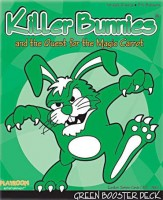 Killer Bunnies: Quest – Green Booster - Board Game Box Shot