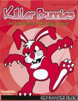 Killer Bunnies: Quest – Red Booster - Board Game Box Shot