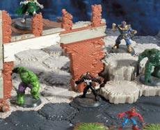 Marvel Heroscape Game