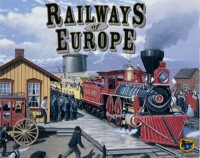 Railways of Europe - Board Game Box Shot