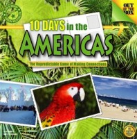 10 Days in the Americas - Board Game Box Shot