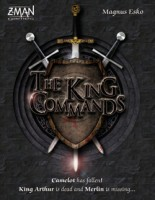 The King Commands - Board Game Box Shot