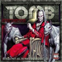 Tomb: Cryptmaster - Board Game Box Shot