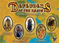 Defenders of the Realm: Hero Expansion #1 - Board Game Box Shot