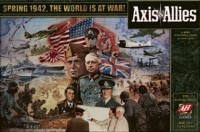 Axis & Allies 1942 - Board Game Box Shot