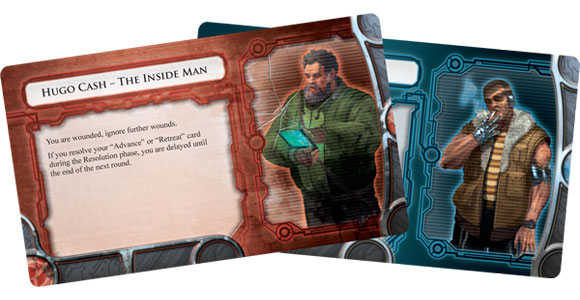 Infiltration character cards