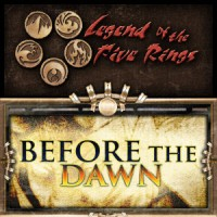 Legend of the Five Rings – Before the Dawn - Board Game Box Shot