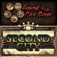Legend of the Five Rings – Second City - Board Game Box Shot