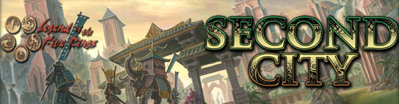 Legend of the Five Rings - Second City title