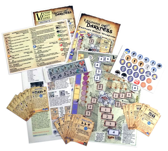 Legions of Darkness contents
