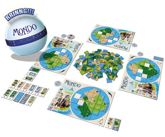 Mondo game components