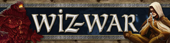 Wiz-War board game title