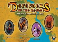Defenders of the Realm: Hero Expansion #3 - Board Game Box Shot