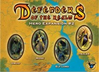 Defenders of the Realm: Hero Expansion #2 - Board Game Box Shot