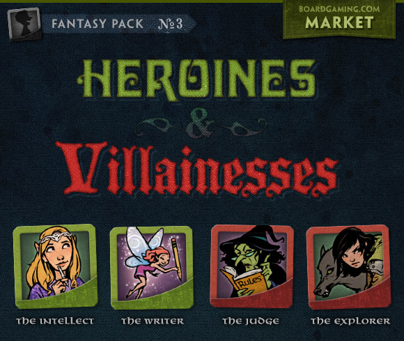 Fantasy Avatar Pack 3 - Heroines and Villainesses