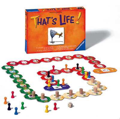 That's Life Board Game