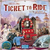 Ticket to Ride: Asia - Board Game Box Shot