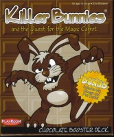 Killer Bunnies: Quest – Chocolate Booster - Board Game Box Shot
