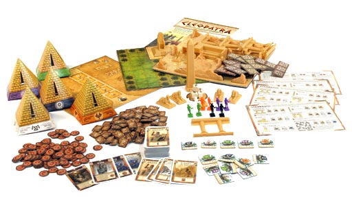 Cleopatra game components