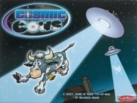 Cosmic Cows - Board Game Box Shot