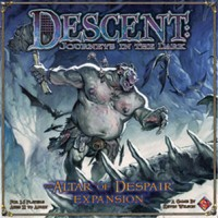 Descent: The Altar of Despair - Board Game Box Shot