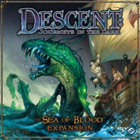 Descent: The Sea of Blood - Board Game Box Shot