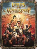 Dungeons & Dragons: Lords of Waterdeep - Board Game Box Shot