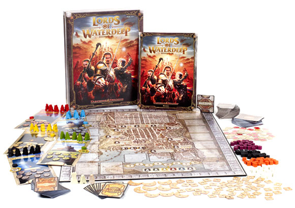 Dungeons and Dragons: Lords of Waterdeep contents