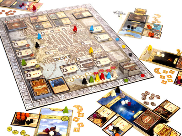 Dungeons and Dragons: Lords of Waterdeep in play
