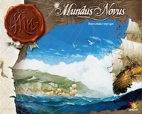 Mundus Novus - Board Game Box Shot