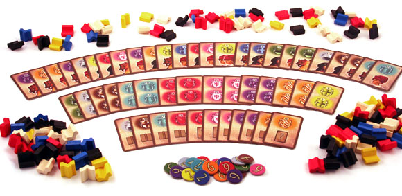 Patrician game components