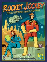 Rocket Jockey - Board Game Box Shot