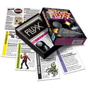 Star Fluxx box and contents