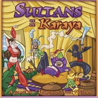 Sultans of Karaya - Board Game Box Shot
