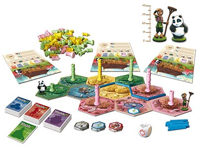 Takenoko game components