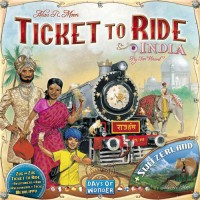 Ticket to Ride: India - Board Game Box Shot
