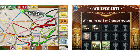 Ticket to Ride Pocket screen shots