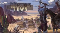 Western Town - Board Game Box Shot