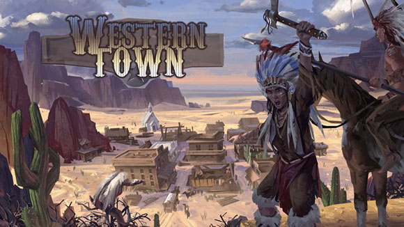 Western Town board game
