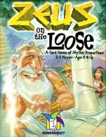Zeus on the Loose - Board Game Box Shot