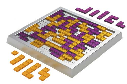 Blokus Duo game in play
