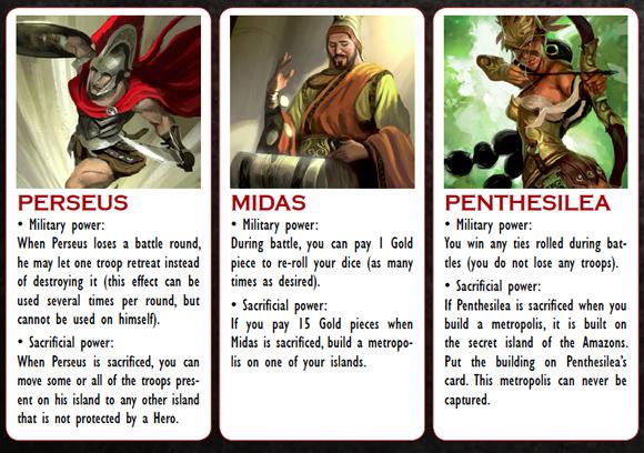 Cyclades Perseus Midas Penthesilia